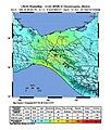 1995 Chiapas earthquake USGS shakemap.jpg