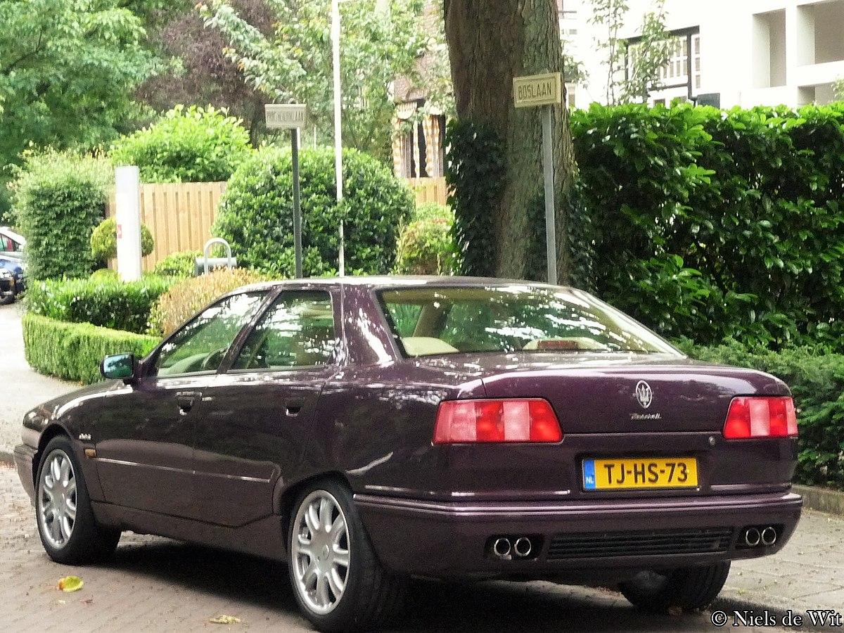 File:1998 Maserati Quattroporte (25809107961).jpg ...