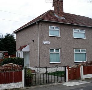 Julia Lennon -  1 Blomfield Road, Liverpool, where Julia and Dykins lived