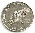 1 песо. Куба. 1985. Природный заповедник - Попугай.jpg