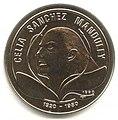 1 песо. Куба. 1990. 70 лет со дня рождения Селии Санчес.jpg