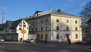 Vynnyky - Image: 1 Shevchenka Street, Vynnyky (01)