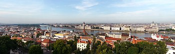 English: budapest hungary panorama 2011