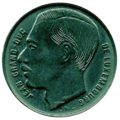 1 franc Luxembourg Jean I (1989)-avers.png