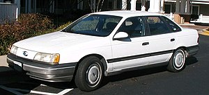 List Of Ford Taurus Models Wikipedia