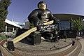 20-foot tall hockey player outside Rabobank Arena (476221651).jpg