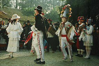 Italian folk dance - Lachera group