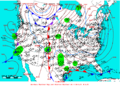 2005-01-28 Surface Weather Map NOAA.png