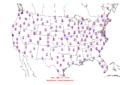 2006-03-06 Max-min Temperature Map NOAA.png