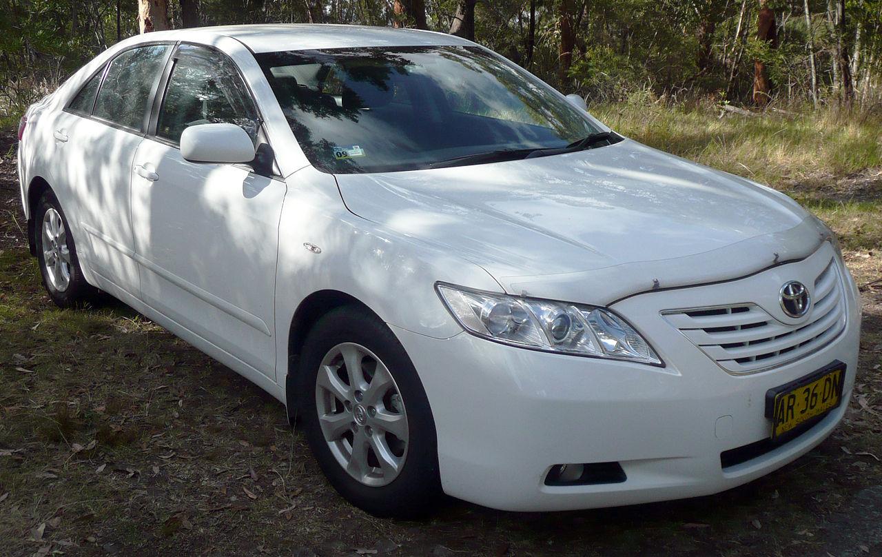 File:2006-2008 Toyota Camry (ACV40R) Ateva sedan 01.jpg ...