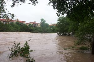 San Gabriel River (Texas) - Flood of summer 2007
