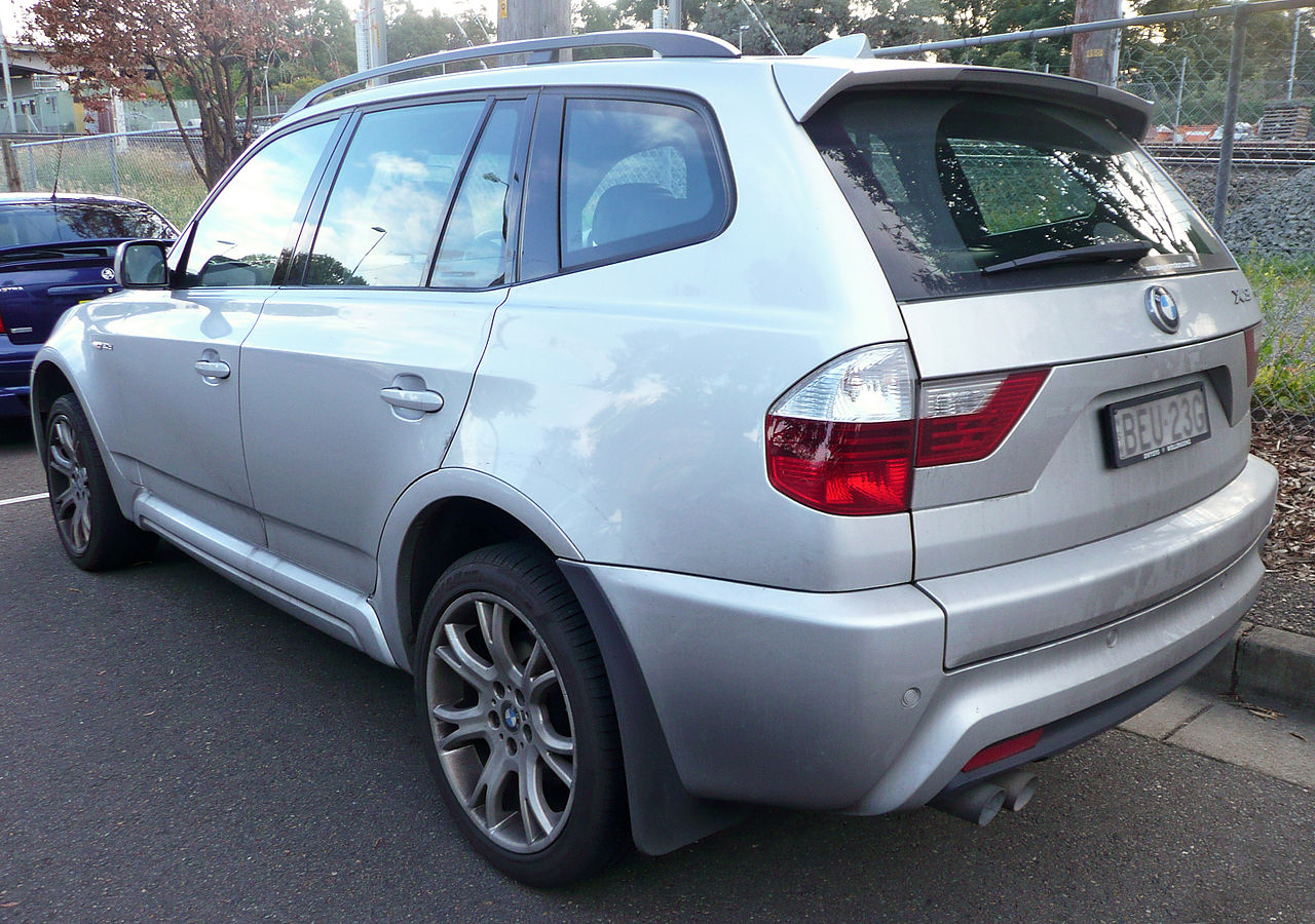 file 2008 2009 bmw x3 e83 xdrive30d lifestyle wikimedia commons. Black Bedroom Furniture Sets. Home Design Ideas