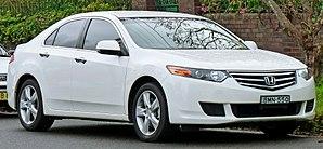 Automotive industry in Japan - Honda Accord sedan, 2008 International Car of the Year