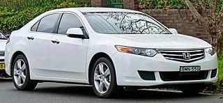 Honda Accord (Japan and Europe eighth generation) Motor vehicle