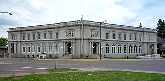 Ironwood, Michigan - The Memorial Building is on the National Register of Historic Places