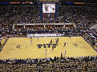 Pitt Panthers basketball at the Petersen Events Center