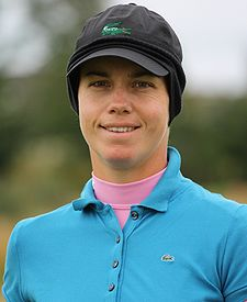 2009 Women's British Open - Karine Icher (3).jpg