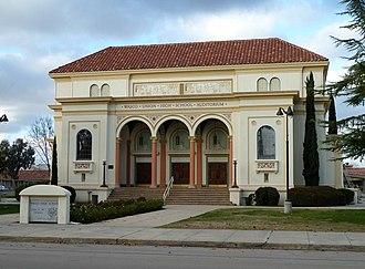 Wasco, California - Image: 2010 1227 Wasco UHS Aud