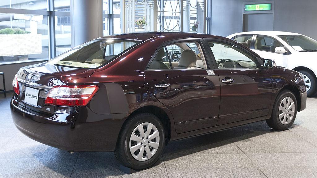 File:2010 Toyota Premio 02.jpg - Wikimedia Commons