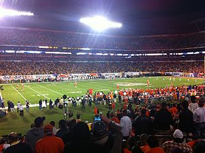 2012 Orange Bowl - Image: 2012 Orange Bowl 1