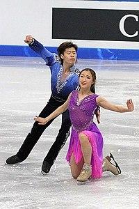 2012 World Junior FS Zhang Yiyi Wu Nan2.jpg
