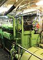 2013 09 28 GM Maschinenraum Hauptdiesel mit Generator IMG 0309 P.JPG