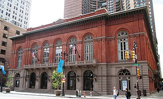 Avenue of the Arts (Philadelphia) - Image: 2013 Academy of Music from north
