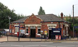 2013 at Solihull station - main entrance.jpg