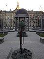 2014-12-27 15 52 57 New Jersey World War II Memorial in front of the New Jersey State House in Trenton, New Jersey.JPG