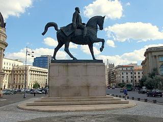 Equestrian statue of Carol I