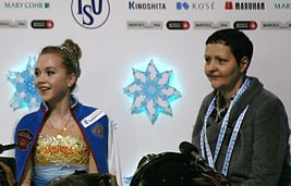2014 Grand Prix of Figure Skating Final Elena Radionova Inna Goncharenko IMG 3633.JPG