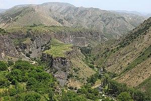 Geology of Armenia - Garni Gorge