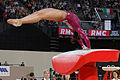 2015 European Artistic Gymnastics Championships - Vault - Elissa Downie 04.jpg