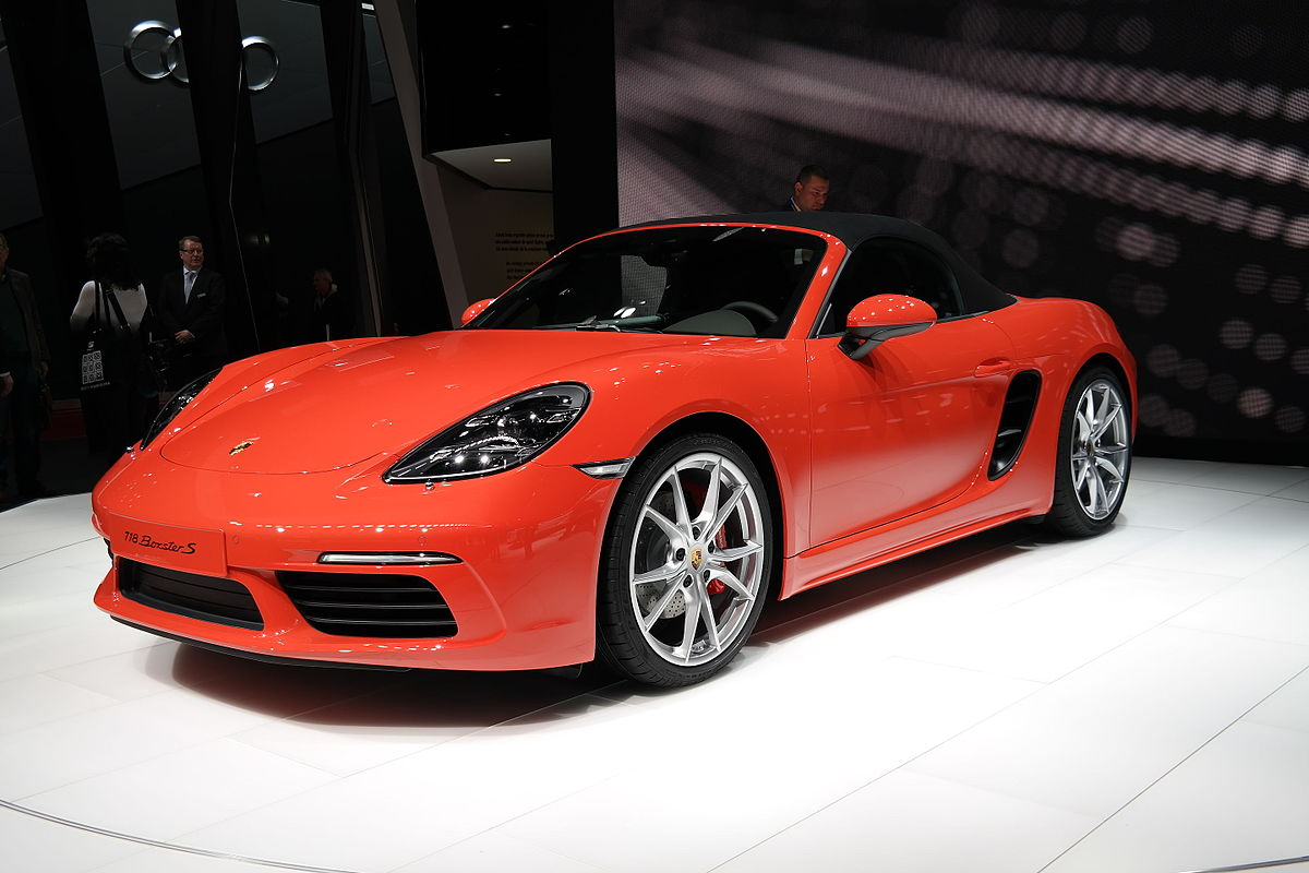 Geneva Motor Show >> 保时捷Boxster - 维基百科,自由的百科全书