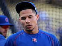 2016-10-18 Willson Contreras before Game 3 of the 2016 NLCS.jpg