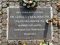 2016-11-01 Bonn-Ippendorf Gedenkplatte Gerold von Braunmuehl (1).JPG