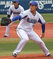 20160410 Kenta Ishida pitcher of the Yokohama DeNA BayStars, at Yokohama Stadium.jpeg