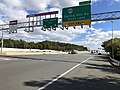 2018-10-24 12 16 48 View east along Virginia State Route 267 (Dulles Toll Road) at Exit 17 (Virginia State Route 684-Spring Hill Road) in Tysons Corner, Fairfax County, Virginia.jpg