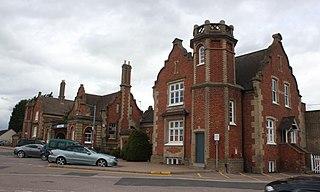 Stowmarket railway station Grade II listed railway station in Suffolk, England