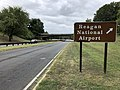 2019-09-13 14 17 52 View south along the George Washington Memorial Parkway at the second exit for Reagan National Airport in Arlington County, Virginia.jpg