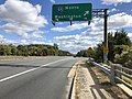 2019-10-17 12 56 40 View east along Virginia State Route 294 (Prince William Parkway) at the exit for Interstate 95 NORTH (Washington) in Marumsco, Prince William County, Virginia.jpg
