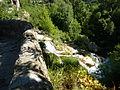 249 Gorges de la Vis Navacelles Le haut de la chute d'eau consécutive à la formation du méandre recoupé 1.JPG