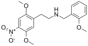 25N-NBOMe - Image: 25N NBO Me structure 300px