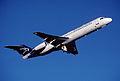 269bo - Montenegro Airlines Fokker 100, YU-AOL@ZRH,20.12.2003 - Flickr - Aero Icarus.jpg