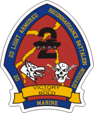 2nd Light Armored Reconnaissance Battalion - 2nd LAR's emblem