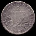 2 francs Semeuse revers.png