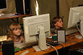 2nd Ukrainian Scout Jamboree 2009 - Internet-cafe.jpg