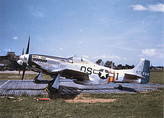 355th Fighter Wing - Image: 355fg p 51d wwii