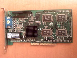 3Dlabs - A Permedia 2 with 8 MB SGRAM