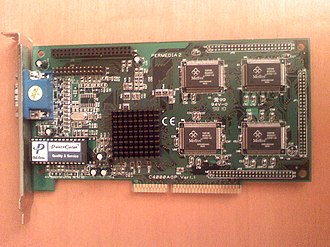3Dlabs - A Permedia 2 with 8 MB SGRAM AGP